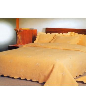 Couvre-lit uni Pétala 1 couvre-lit 2 personnes 220 x 260 cm