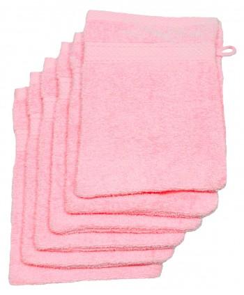 6 gants 16 x 21 cm 500 gr/m² rose