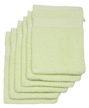 6 gants 16 x 21 cm 500 gr/m² anis