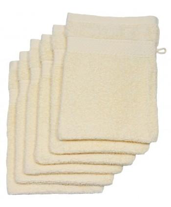 6 gants 16 x 21 cm 500 gr/m² vanille