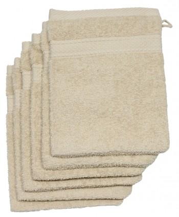 6 gants 16 x 21 cm 500 gr/m² ficelle