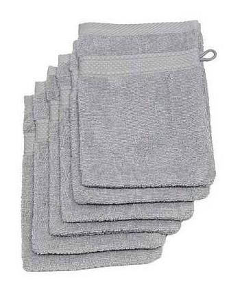 6 gants 16 x 21 cm 500 gr/m² gris souris