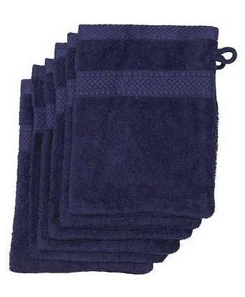 6 gants 16 x 21 cm 500 gr/m² bleu marine