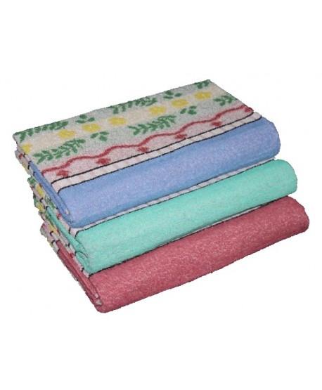 Pack 12 serviettes de toilette Jacquard