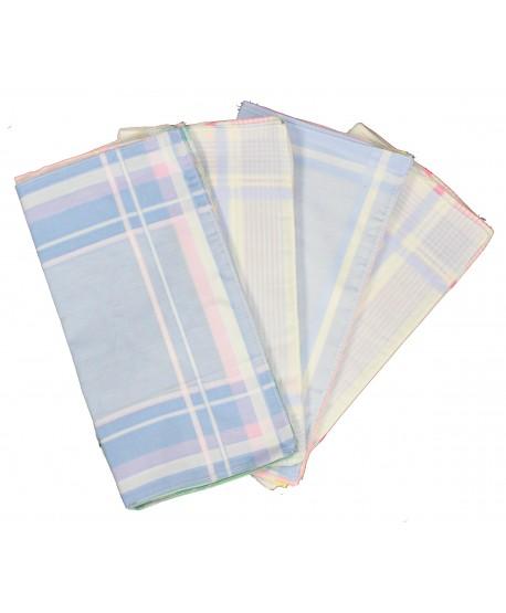 Mouchoirs couleurs 30 x 30 cm