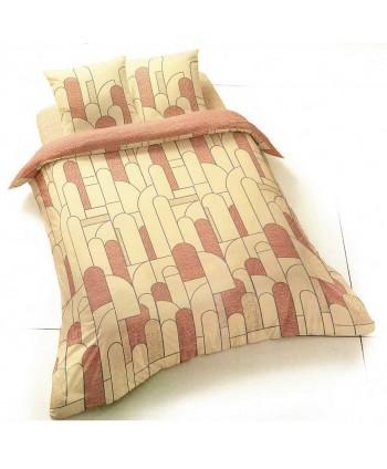 Parure de lit 1 personne coton