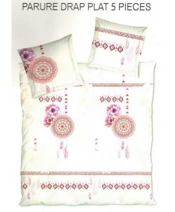 Parure de lit 2 personnes coton