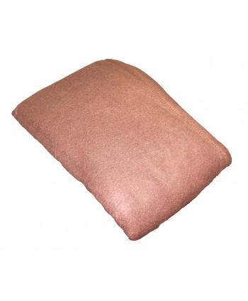 Couverture Polaire 180 x 220 cm Chocolat non feu